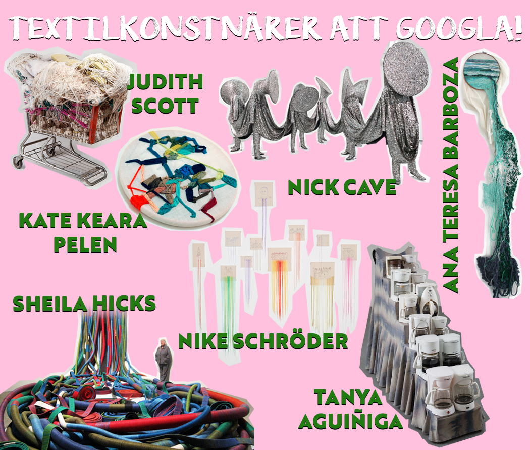 Textilkonstnärer att googla